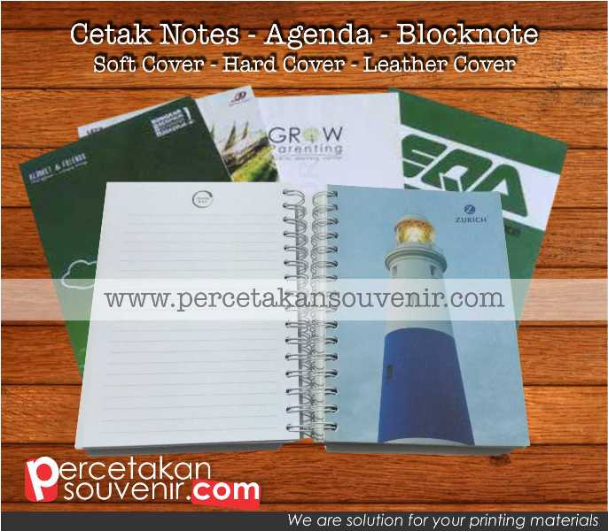 Cetak Notes | Blocknote | Notebook