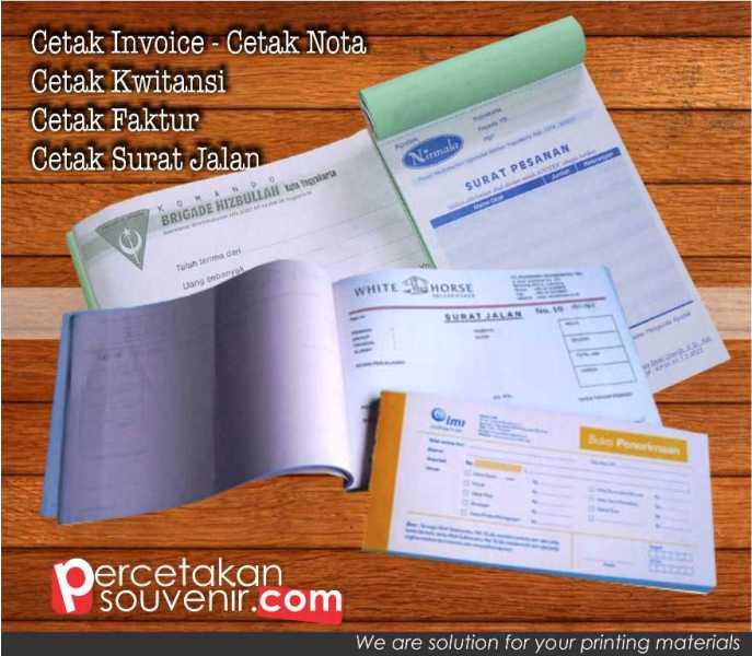 Cetak Invoice | Faktur | Surat Jalan