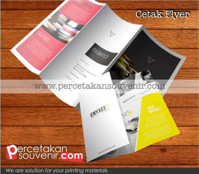Cetak Flyer Brosur
