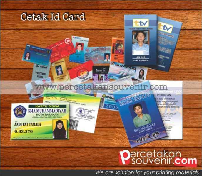 Cetak ID Card Akses
